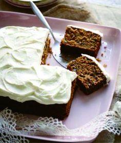 Gluten-Free Carrot Cake with Cream Cheese Frosting - cake, carrot, cheese, dessert, guten free, nut, recipes, tart