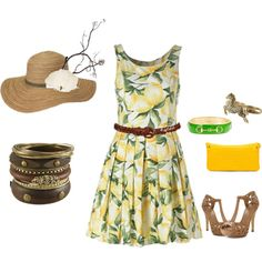 Kentucky Derby, created by aki5000 on Polyvore
