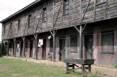 Pueblo minero, museo mina de Lota. Fotos de Concepción: Paisajes y Fotografías de Chile Central