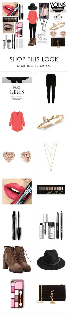 """""""YOINS RULZ"""" by sukh-deol ❤ liked on Polyvore featuring Michael Kors, Forever 21, Fiebiger, Lancôme, Bobbi Brown Cosmetics, BeckSöndergaard, Yves Saint Laurent, women's clothing, women and female"""