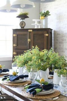 Summer Lemon Tablesc