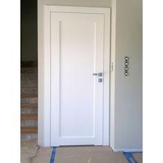 Drzwi wewnętrzne klasyczne białe model DWK14