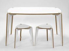 Table rectangulaire en bois Collection Bolero by EMKO UAB | design Mindaugas Žilionis