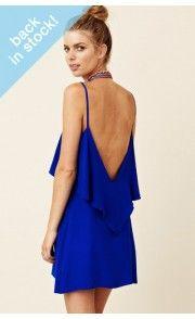 Blu Moon Silk Summer Lovin Dress