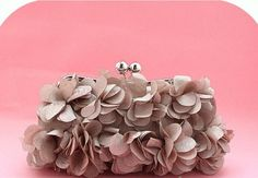 Flower Petals Clutch - Shop My Sister's Closet  Posted to the Stufflicious.com community storefront by mysisterx1. Buy it directly from shopmysisterscloset.us for $40 today. #Clutches #Bags #Purses #Womens #Apparel #Fashion #Style #Cute #Style