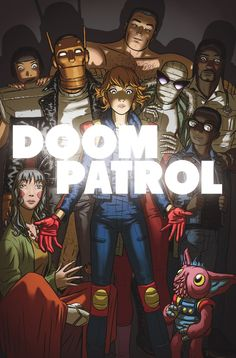 DOOM PATROL #6 Written by GERARD WAY • Art and cover by NICK DERINGTON • Backup story art by SHAWN CRYSTAL • Variant cover by SAMPLERMAN