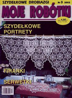 "Photo from album ""Moje robotki on Yandex. Crochet Book Cover, Crochet Books, Crochet Doilies, Knitting Magazine, Crochet Magazine, Crochet Chart, Knit Crochet, Russian Crochet, Crochet Instructions"