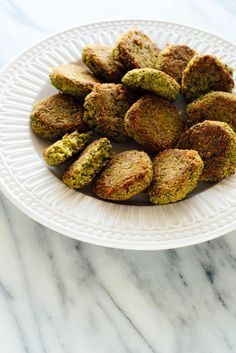 This crispy baked falafel recipe is so easy to make and tastes incredible! Serve your falafel in pita sandwiches or salads, or freeze for later. Gluten free.