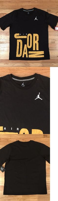 6c10167458e Other Kids Clothing and Accs 175640: Air Jordan Jumpman T-Shirt Black Size  Youth Xl -> BUY IT NOW ONLY: $19.99 on #eBay #other #clothing #jordan  #jumpman ...