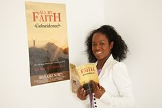 "Photo shoot for my autobiography: ""All by Faith'"