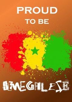 Solange Diouf is proud to be Senegalese!