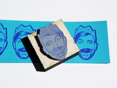 Custom Rubber Portrait Stamp - Custom Face stamp- free shipping in Canada! by Stamplifier on Etsy https://www.etsy.com/listing/175585924/custom-rubber-portrait-stamp-custom-face