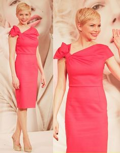 "Michelle Williams in Valentino at ""My Week with Marilyn"" Photocall, Japan"