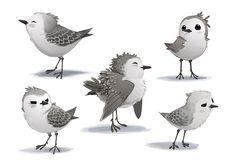 Explore Concept Art & Stills from Pixar Short 'Piper' | Animation World Network