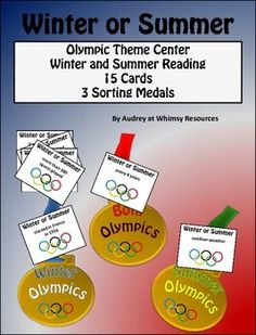 Olympic Compare & Contrast Center  - pinned by @PediaStaff – Please Visit ht.ly/63sNtfor all our pediatric therapy pi