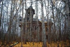 The abandoned house in the woods. what stories it could tell...