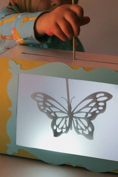 Looking for a fun project for kids? Look no further than this shadow puppet theater to delight little ones. Using Adhesive Cardstock to decorate the theater makes this project a snap (and easy for little hands to help), and the CAMEO can cut out just about any shape for the puppets. We stuck …