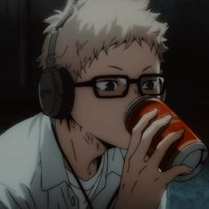 Tsukishima Kei, Haikyuu Fanart, Haikyuu Anime, M Anime, Anime Art, Tsukkiyama, Japon Illustration, Estilo Anime, Anime Profile