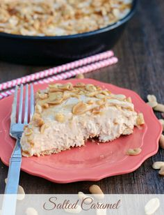 Salted Caramel Peanut Butter Pie