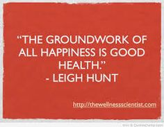 Health=Happy!