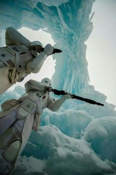 Snowtroopers aka cold assault stormtroopers