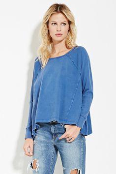 Oversized Raglan Pullover
