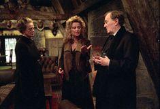 Madam Rosmerta The Landlady Of The Three Broomsticks Minister Fudge Professor Mcconagall Three Broomsticks Harry Potter Cast Hp Harry Potter