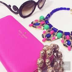 kate spade Clutches & Wallets - Kate Spade Wallet in PINK