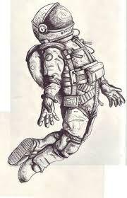spaceman old engraving - Cerca con Google