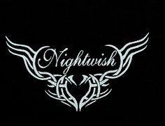 Nightwish Logo | NIGHTWISH - LOGO - Lista życzeń Niespodzianka.pl - Dla tych, którzy ... Symphonic Metal, Band Tattoo, The Dark World, Band Logos, Backrounds, Death Metal, Sexy Tattoos, Metal Bands, Music Bands
