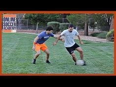 Football Tips - How to Handle a Mean Opponent - Online Soccer Academy - YouTube
