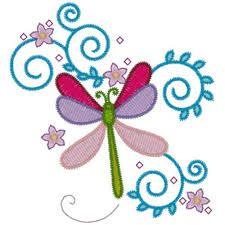 Image result for dragonfly applique design