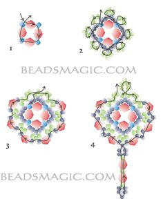 "earrings ""helga"" Beads Magic (pattern)"