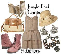Jungle Boat Cruise Fashion