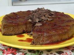 Receita de Cheesecake Chocolate da Ana Maria Braga Mais Você 26/04/12
