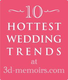Wedding Trends 2013