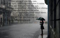 Best William Shakespeare Quote about love.