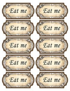 mad hatters eat me - Google Search