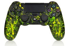 Sony PlayStation 4 Pro - Video Games - Ideas of Video Games - FREE! Get your or controller pimped by Sony Graffiti artists win FIFA goodies for the World Cup Video Game Rooms, Video Games Xbox, Xbox One Games, Ps4 Games, Ps4 Video, Control Playstation, Control Ps4, Ps4 Controller Custom, Game Controller