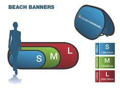 Alle typer bannere til innendørs eller utendørsbruk  banner, reklamebanner, fasadebanner, reklameseil, rollup, roll-up. Beach Flags, Marketing Materials, Sailing, Banner, Graphic Design, Blog, Candle, Banner Stands, Blogging