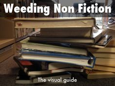 """Non Fiction Weeding - The Visual Guide"" - A Haiku Deck by Dianne McKenzie"