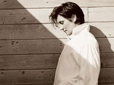 KD Lang by Herb Ritts; Lock, Stock & Teardrops, best song ever by her.