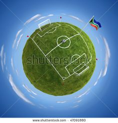 Globe Soccer Concept 3d Stock Photos, Images, & Pictures | Shutterstock