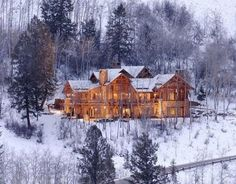 Mansion In The Rocky Mountains