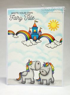 -My Favorite Things -Magical Unicorns stamps set