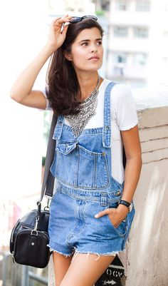 CURRENTLY WEARING: ESSENTIAL SUMMER OVERALLS