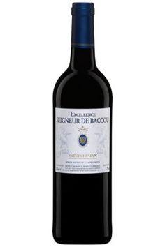 EXCELLENCE  SEIGNEUR DE BACCOU 13.15$ français rouge  vin moyen ,apprécié  sans plus  poulet pizza pâte !