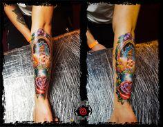 #tattoo #tatuaje #tattoogabyink #tatuajecaransebes #tatuajeromania #tattoocolor #bestattoo #tattooart #tatuajebrat #tattoohand #tattooboys #tattoosleeve #tattootraditional