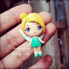 tinkerbell necklace pendant