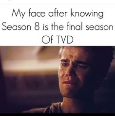 #TVD The Vampire Diaries yup, it made me feel sad a bit..
